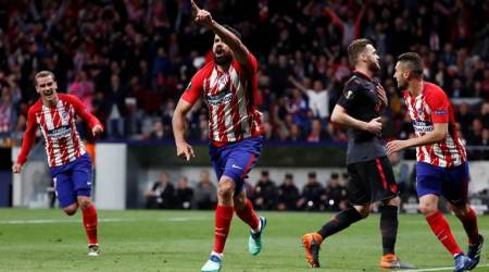 Europa League: Diego Simeone hails Diego Costa after 'historic' night for AtleticoMadrid