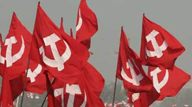 The state police confirmed that some people had hurled stones at CPI(M) workers.