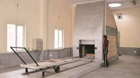 Gurgaon: Six years since it was built, lone CNG crematorium yet to see afuneral