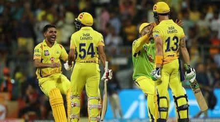 IPl 2018, Indian Premier League, CSK vs SRH, Sunrisers Hyderabad, Chennai Super Kings, Faf du Plessis, sports gallery, cricket photos, IPL photos, Indian Express