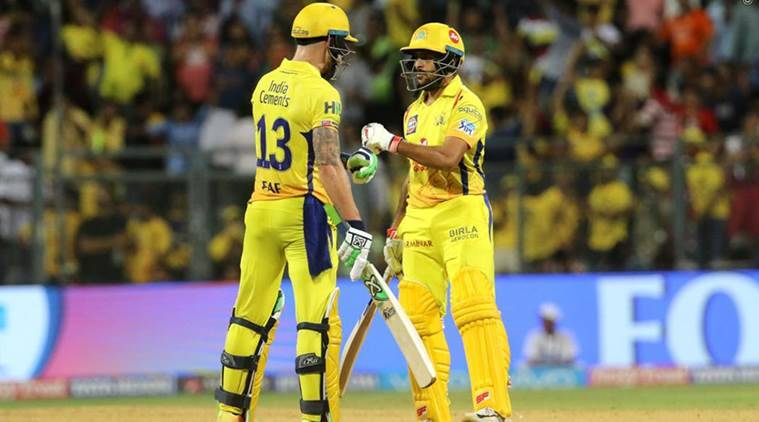 IPL: Chennai in final; beat Hyderabad by two wickets in Qualifier 1