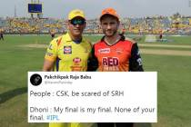 IPL 2018 CSK vs SRH : Here are all the memes and jokes buzzing on the Internet ahead of the final