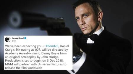 daniel craig, james bond, james bond films, bond 25, daniel craig james bond danny boyle, danny boyle to direct james bond daniel craig, Indian express, Indian express News, Trending, Twitter reactions