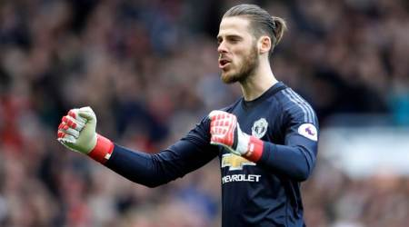 David De Gea claims record-breaking fourth Player of the Year Trophy at Manchester UnitedAwards