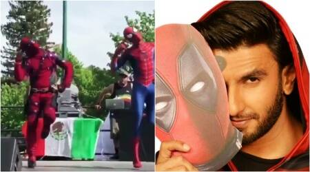 This mash-up of 'Deadpool' dancing to Ranveer Singh's popular number 'Khalibali' is HILARIOUS