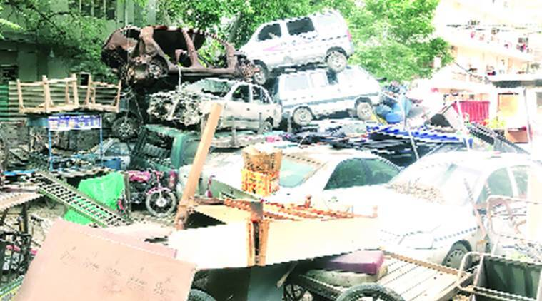 Seized cars piling up, MCDs change tactics