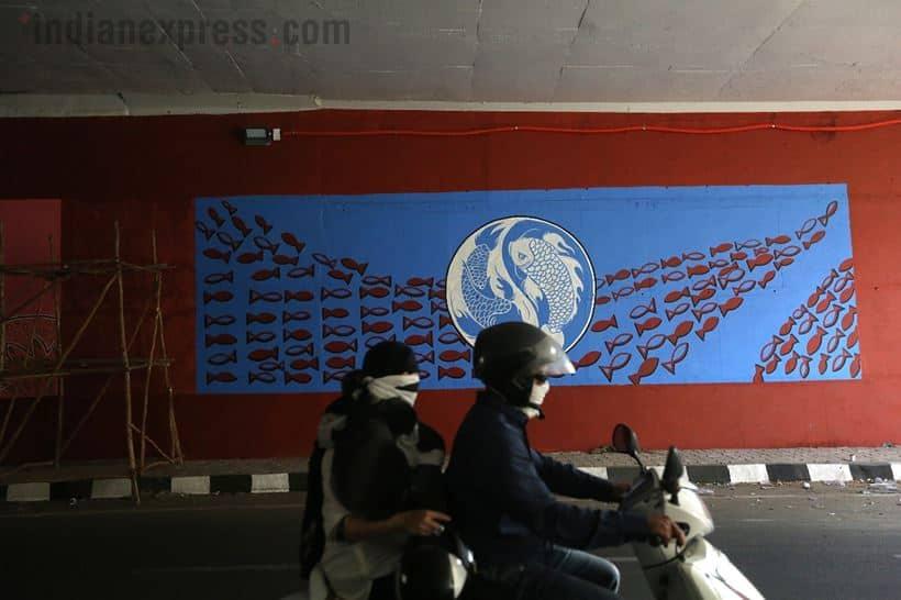murals Delhi-Meerut Expressway