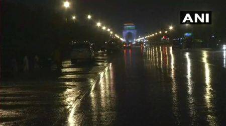 Delhi rain HIGHLIGHTS: Heavy downpour brings temperature down, several flights delayed