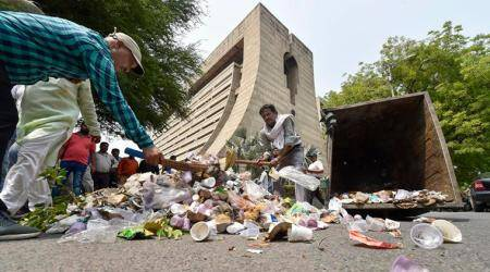 Delhi HC disapproves of dumping garbage on roads as mark of protests