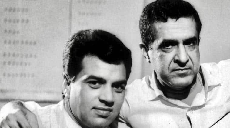 Dharmendra and Arjun Hingorani