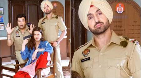 Arjun Patiala first look: Diljit Dosanjh, Kriti Sanon and Varun Sharma are ready to tickle your funny bones