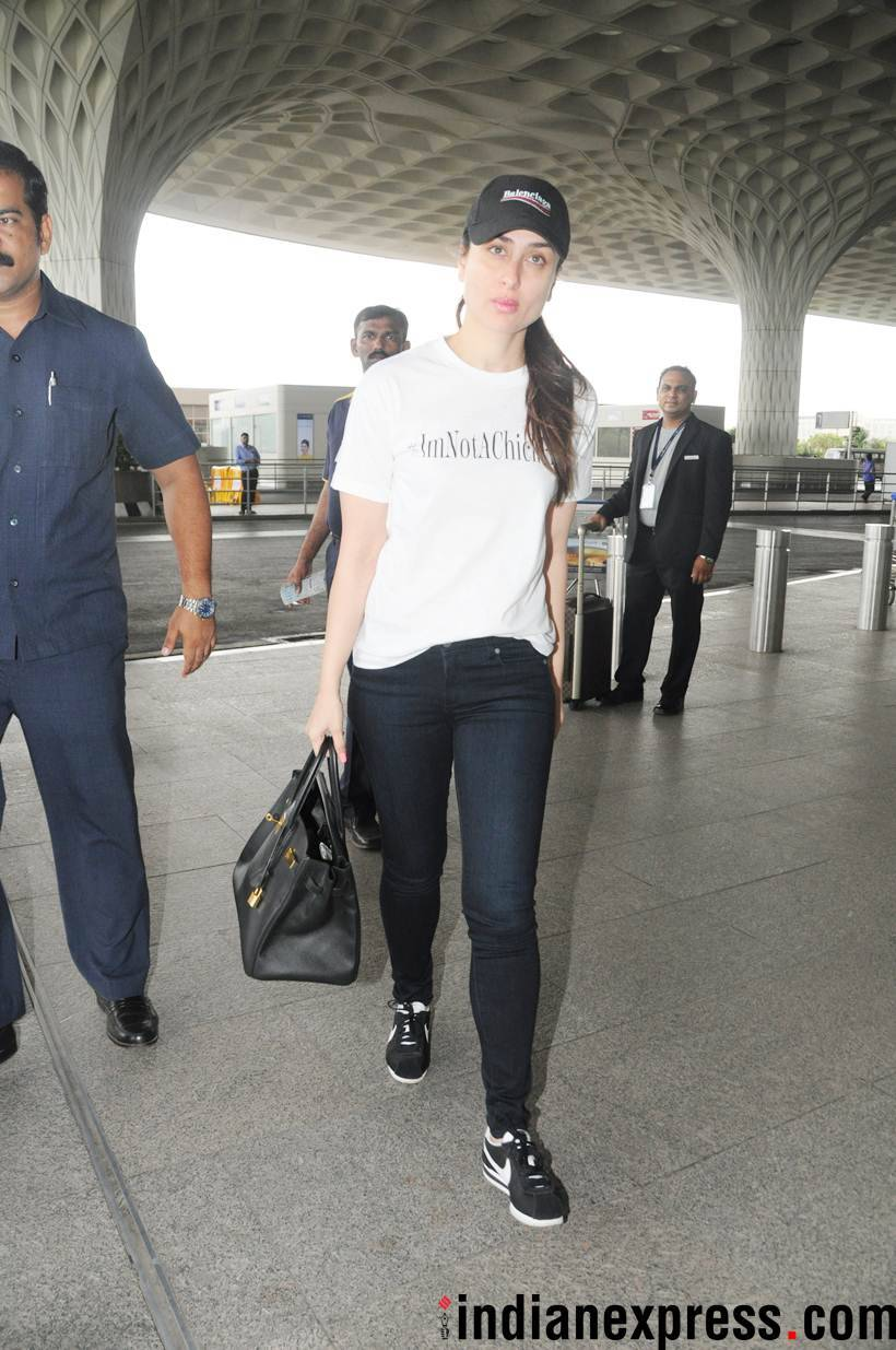 kareena kapoor khan at airport