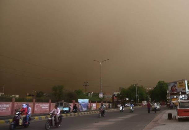 High-velocity dust storm, rain kill over 60 in North India