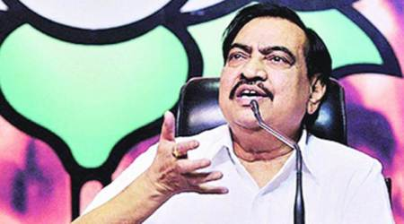 ACB says 'no concrete evidence' against Khadse: Question mark over 'who is the real owner of Bhosariland'