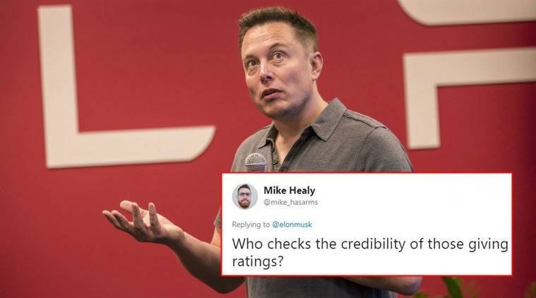 Musk slams fake news media, muses about app to rate reporters