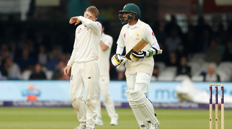 1st Test: Pakistan curtail England to 184 in 1st innings