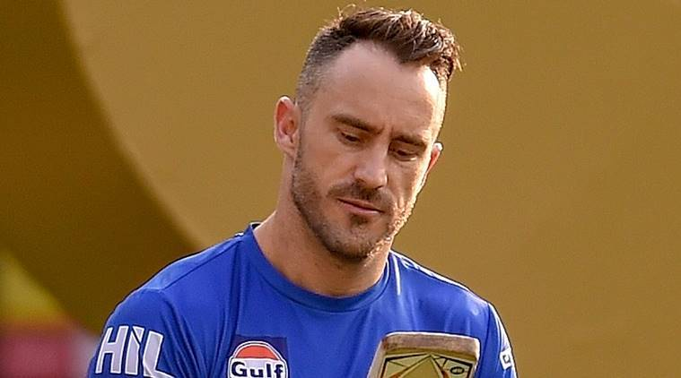 IPL Final, Faf du Plessis played a vital role in CSK making the final