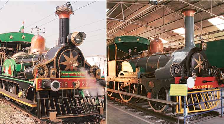 After 100 years, world's oldest steam locomotive back on