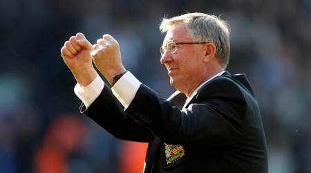 Sir Alex Ferguson back at Old Trafford for the first time since emergency brain surgery