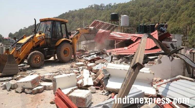 Kasauli demolition