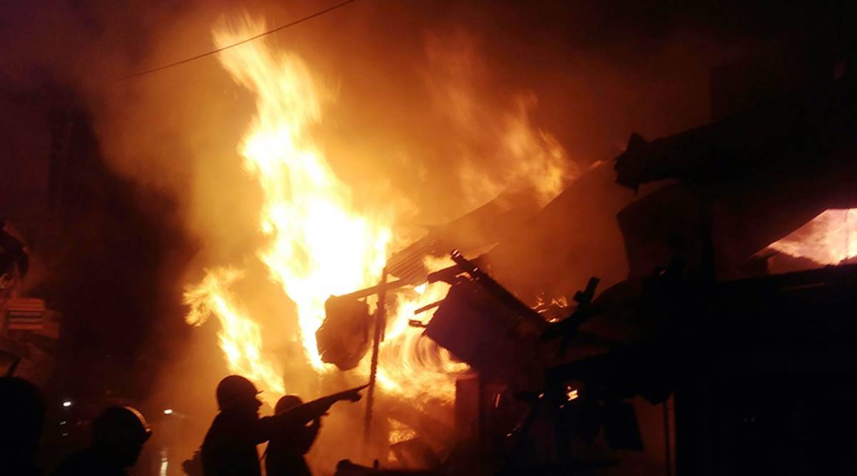fire western germany, lambrecht fire, five dead, house fire, fire news, Lambrecht news, germany news, world news, indian express news