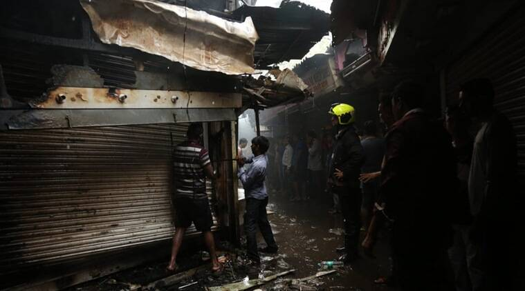 Mumbai: Fire breaks out at sweet shop outside Malad station, no casualty reported