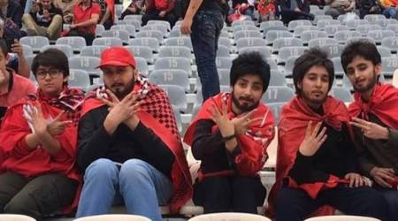 Barred from football stadiums, Iranian girls sneak in with fake beards; watch video