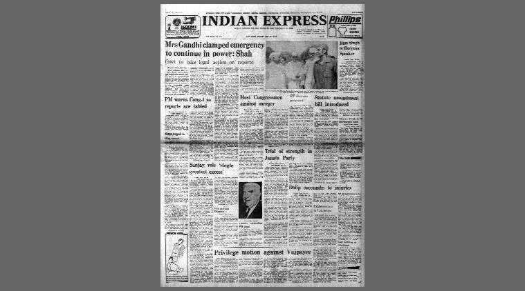 May 16, 1978, Forty Years Ago: Shah indicts Indira
