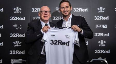 Frank Lampard appointed Derby County manager on three-yeardeal