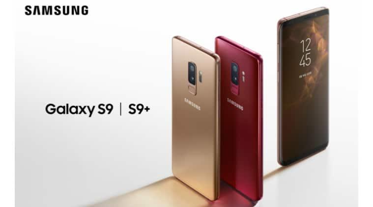 Samsung, Samsung Galaxy S9 Burgundy Red, Samsung Galaxy S9 Sunshine Gold, Samsung Galaxy S9 price in India, Samsung Galaxy S9 Plus price in India, Samsung Galaxy S9 specifications, Samsung Galaxy S9 Plus specifications