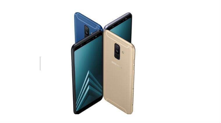 samsung galaxy a6 a6 with infinity displays android. Black Bedroom Furniture Sets. Home Design Ideas
