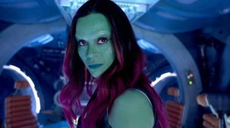 Zoe Saldana, the avengers infinity war actor, talks about leaving marvel universe