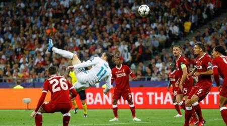 Gareth Bale bicycle kicks Real Madrid to third consecutive Champions League title