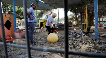 Israeli military: More than 25 mortar shells fired from Gaza
