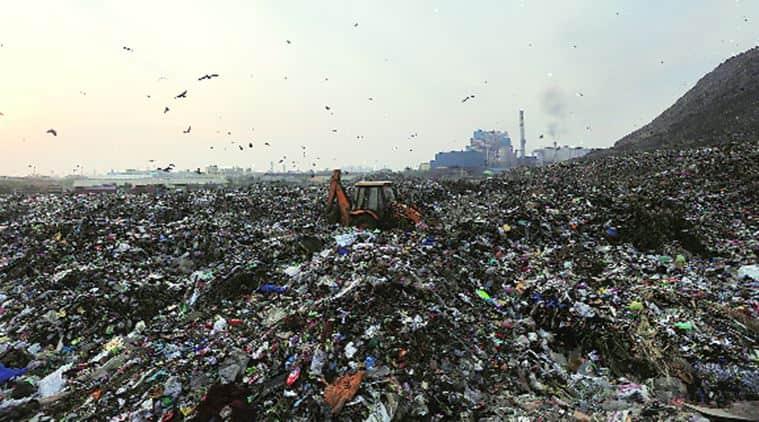 delhi, delhi landfill sites, ghazipur landfill site, ghazipur landfill, bhalswa landfill, bhalswa landfill site, delhi landfill pollution, delhi garbage pile, delhi garbage dump