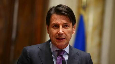 Giuseppe Conte, Italy PM, G7 summit