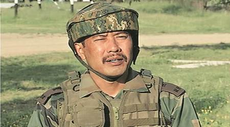 Major Leetul Gogoi, who tied J-K man to jeep, questioned over woman at hotel