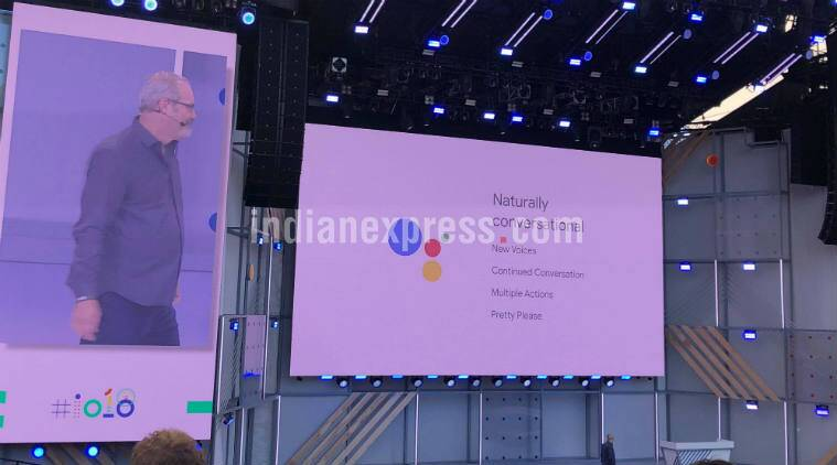 Google I/O 2018: Google Assistant is more conversational