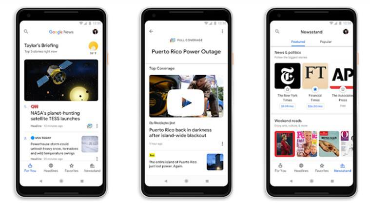 Google News now offers more personalised feed, subscription option