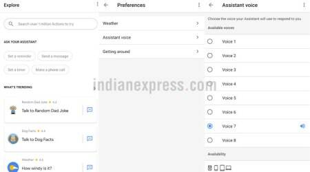 Google, Google Assistant voices, Google Assistant, How to get Google Assistant new voice, Google Assistant Hindi, Google IO, Google IO 2018