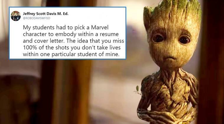 A kid made a resume for Groot and it's highly accurate