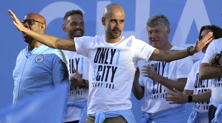 Manchester City manager Pep Guardiola inks contract extension to 2021