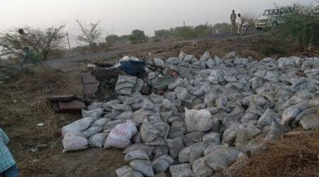 Gujarat: 19 killed as truck loaded with cement overturns near Dholera inAhmedabad