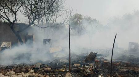 Fire destroys 50 shanties in Gurgaon, no injuriesreported