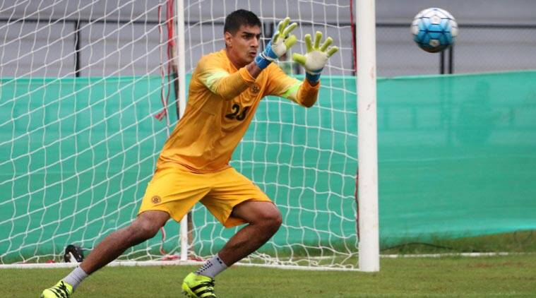 Asian CUp, Asian Cup news, Asian Cup updates, Gurpreet Singh Sandhu, Gurpreet Singh Sandhu new,s Gurpreet Singh Sandhu India, sports news, football, Indian Express