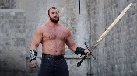 Game of Thrones actor Hafþór Júlíus Björnsson becomes the World's Strongest Man