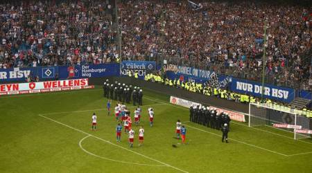 Hamburg relegated for first time from Bundesliga amid crowdtrouble