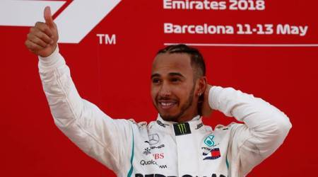 Lewis Hamilton takes another record from Michael Schumacher in Spain