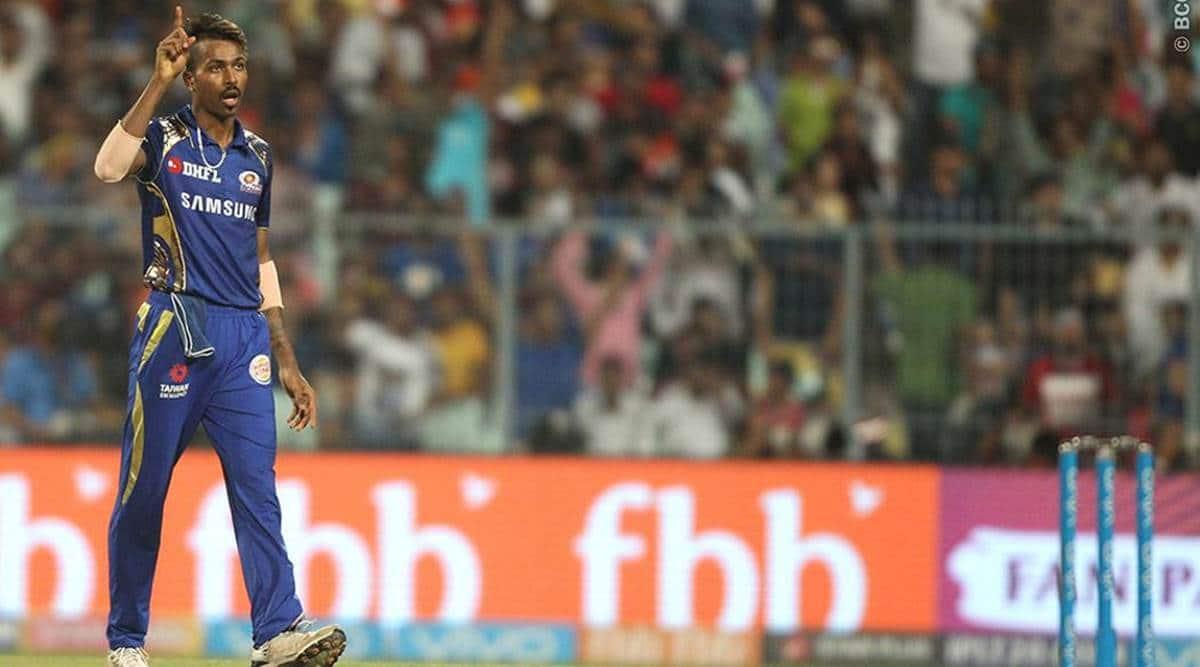IPL 2018, Indian Premier League, Hardik Pandya, Hardik Pandya MI, Mumbai Indians, sports news, cricket, Indian Express
