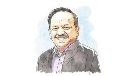 harsh vardhan, union science minister, model town delhi, delhi confidential, indian express